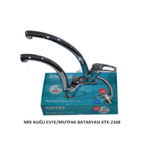 Mutfak Bataryası Knitex Mix Kuğu KTX-2168