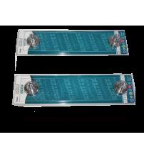 Metal Camlı Etajer Knitex KTX-2133