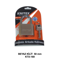 Asma Kilit Beyaz 50 mm Knitex KTX-169