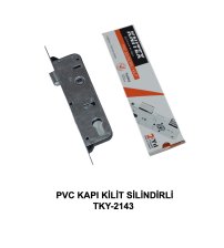 Kilit PVC Kapı Silindirli Knitex KTX-2143