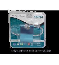 Metal Dar Kapaklı Kağıtlık Knitex KTX-2126
