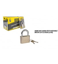 Asma Kilit Blisterli Dark Key  No:30