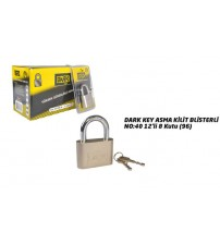 Asma Kilit Blisterli No:40 Dark Key
