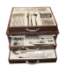 90 Parça Çatal Kaşık Bıçak Seti Sandıklı Safran Model GÜN-060